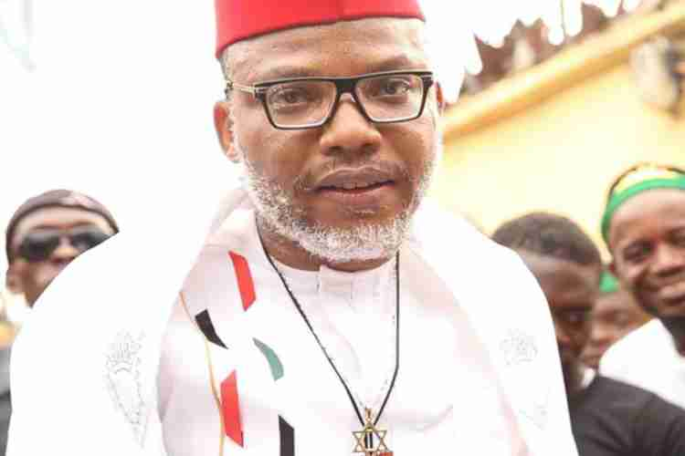 Nnamdi Kanu Names Three People That Make Up Biafra