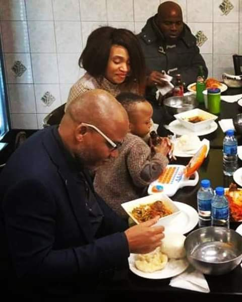 Biafra: Finally, Nnamdi Kanu Reunites With Family In UK (Photo)