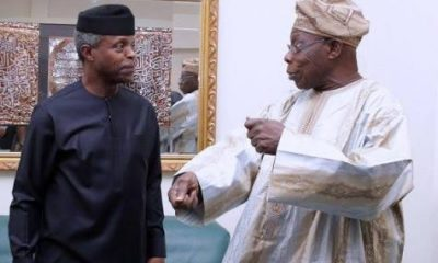 Osinbajo Replies Obasanjo Over Attack On Buhari, TraderMoni (Full Text)