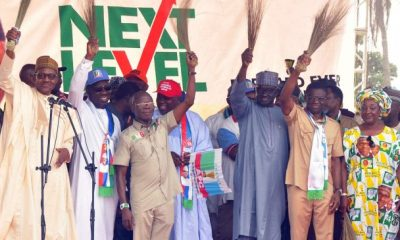Oshiomhole at Edo APC Rally