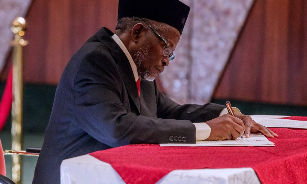 Tanko Mohammed 1000x600 - Acting CJN Calls For Nomination Of New Judges For The Supreme Court