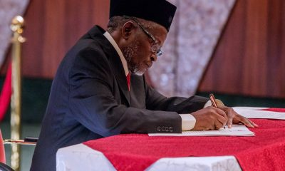 Breaking: Acting CJN Swears In 250 Election Tribunal Members