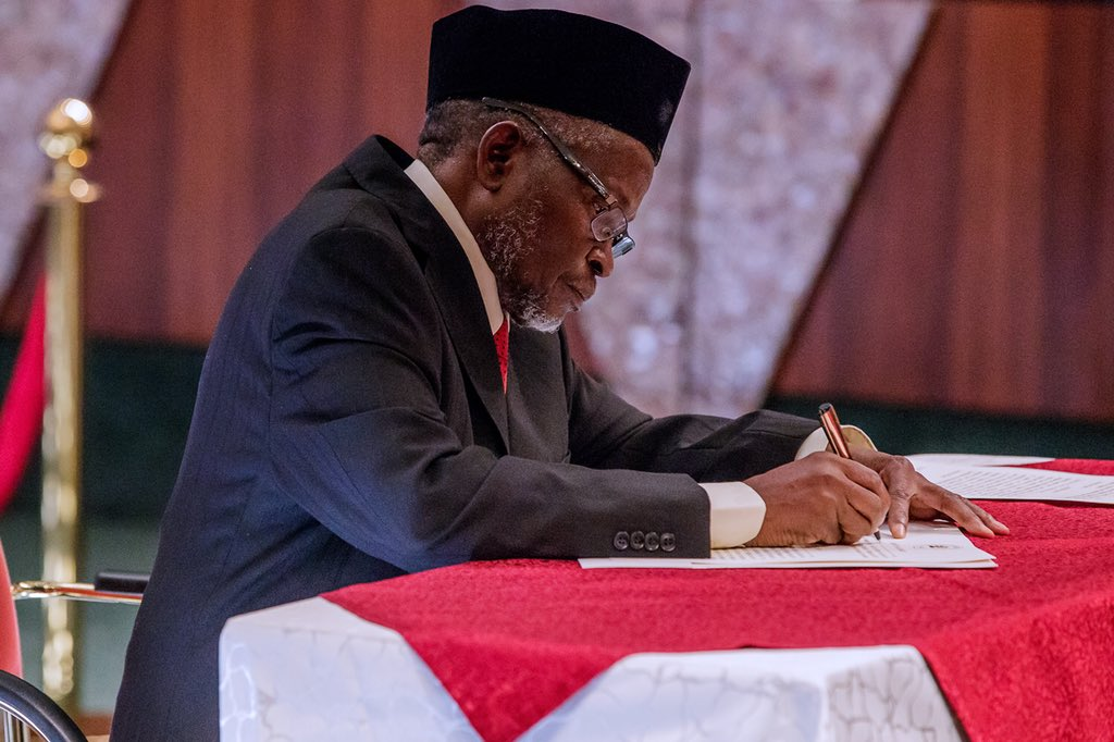 Breaking: Senate confirms Tanko as CJN