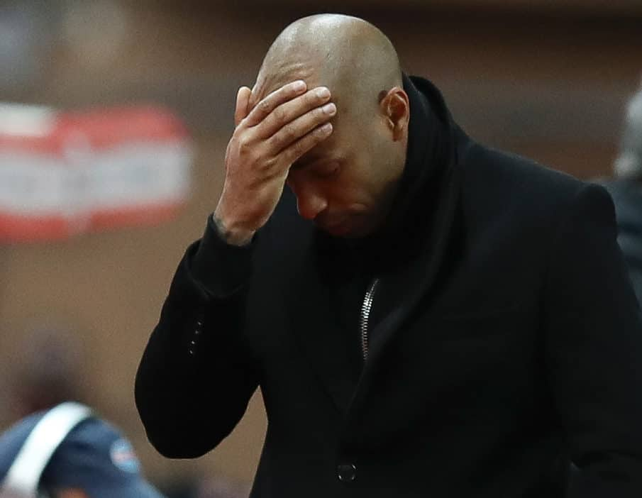 Monaco Suspend Manager Thierry Henry