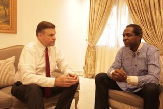 US Ambassador Visits APC's Tonye Cole, Encourages His Style Of Politics