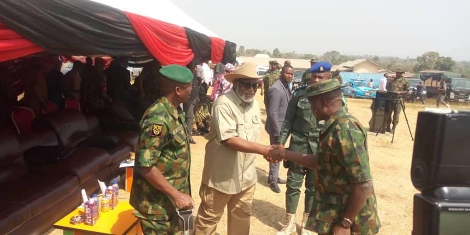 akeredolu and army