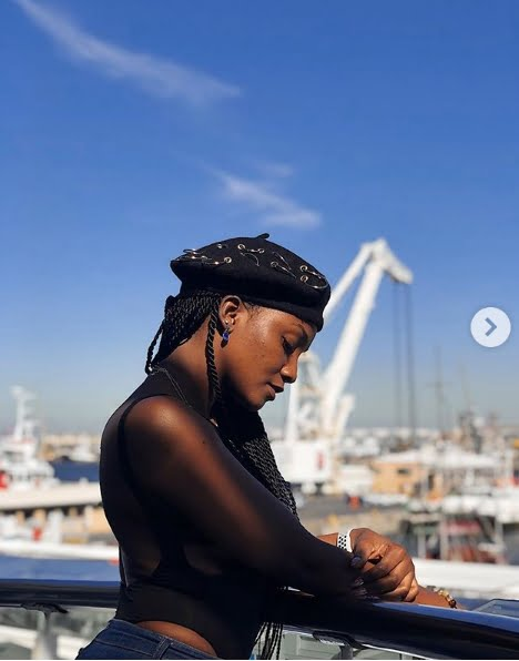 simi 3 - Simi Shares Honeymoon Pictures From South Africa