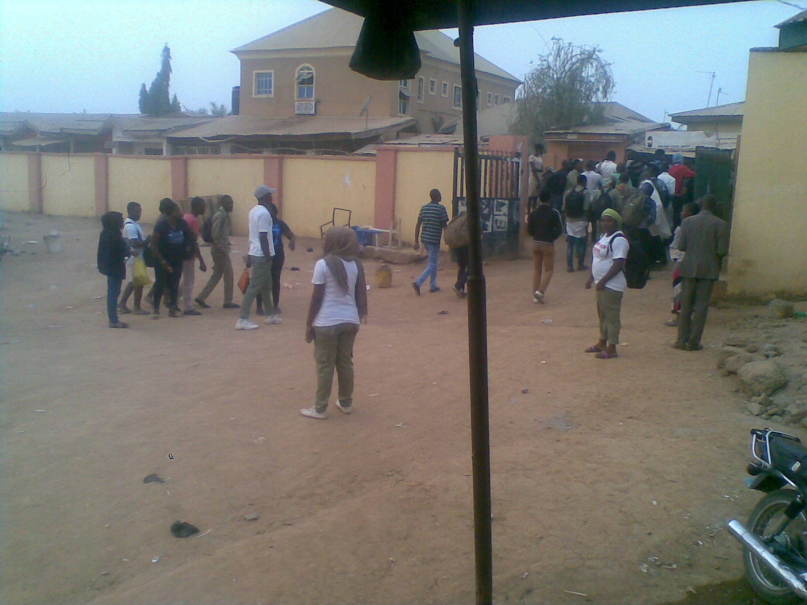8781185 16022019001 jpegd091cfc2d4d569016580995fd2a9b297 - INEC Postpone Elections: Adhoc Staff Returning To Their Destinations (Photos)
