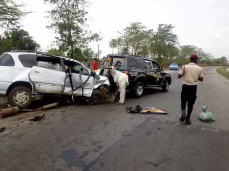 Accident 1 - One Killed, Two Injured On Lagos-Abeokuta Road Accident
