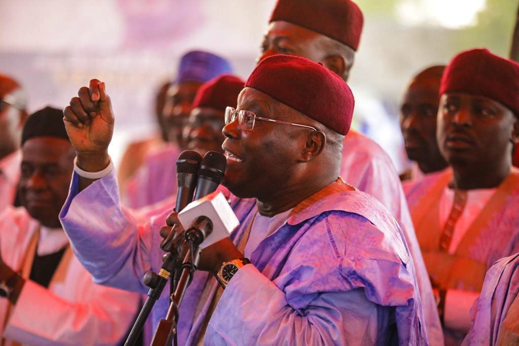 Atiku Abubakar addresses Nigerians