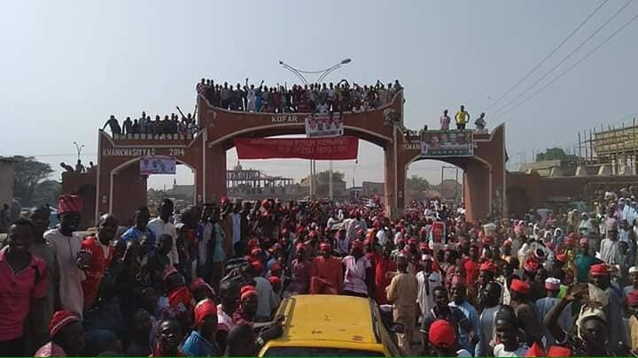 Atiku In Kano: PDP's Atiku Pulls 'Unbelievable Crowd' In Kano (Video