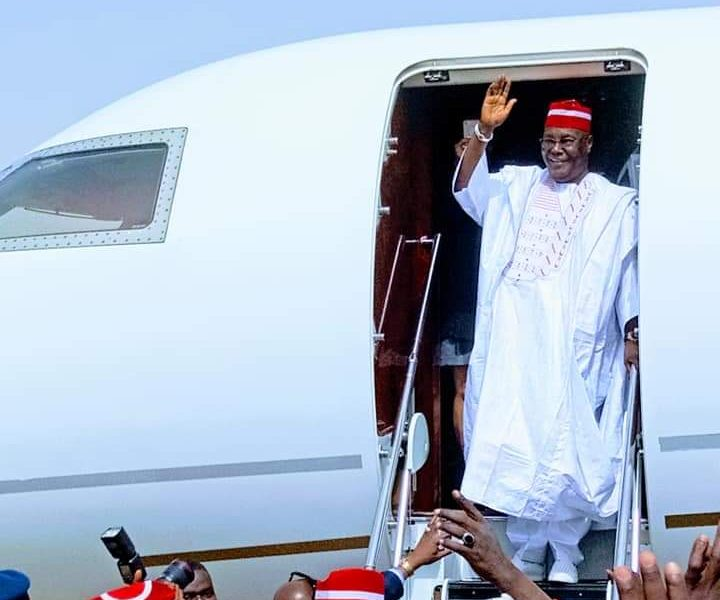 Atiku In Kano: Pictures And Videos From PDP's Presidential Rally In