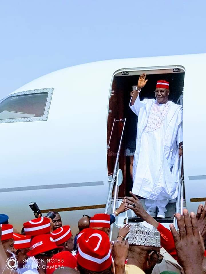 PDP's Atiku Pulls 'Unbelievable Crowd' In Kano (Video/Photos)Atiku Abubakar