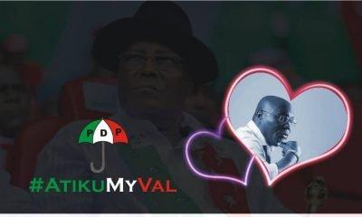 Nigerians Adopt PDP's Atiku As Their Val
