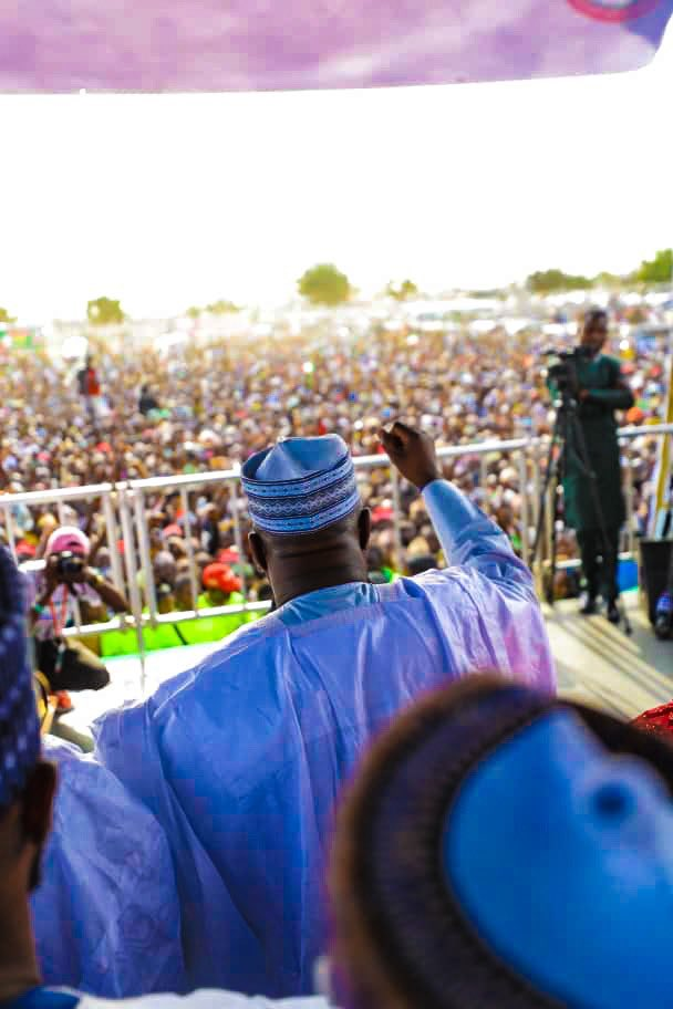 What Atiku, PDP Chairman Said In Zamfara