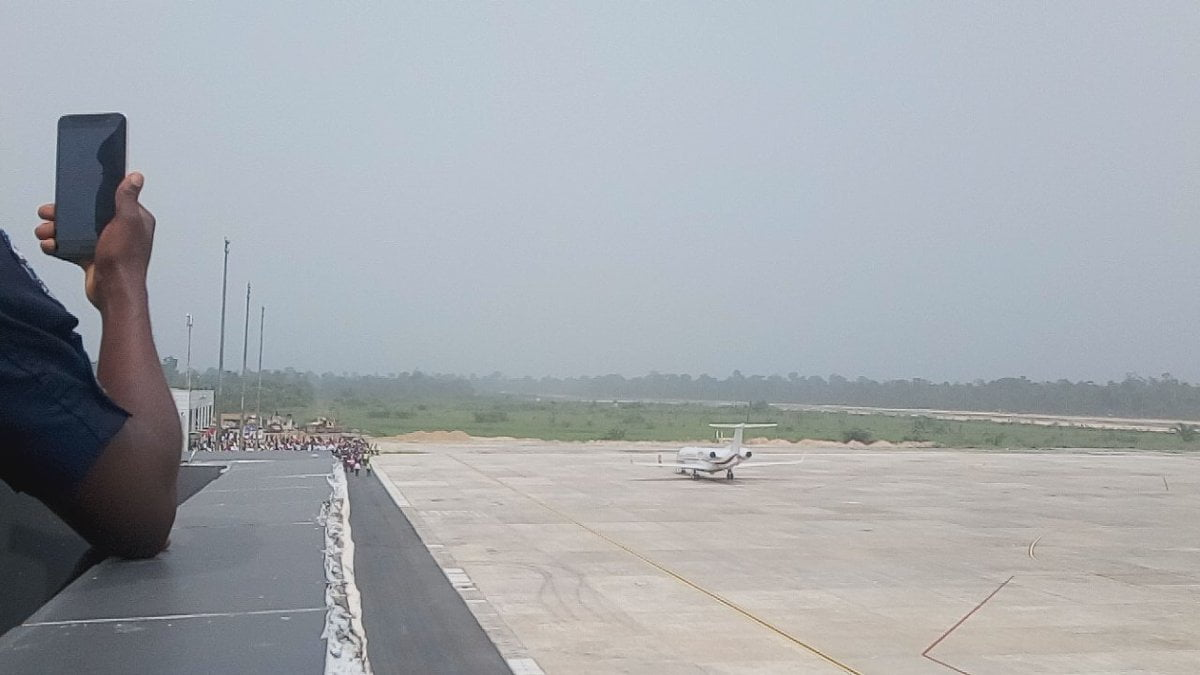 Photo of Bayelsa airport runway