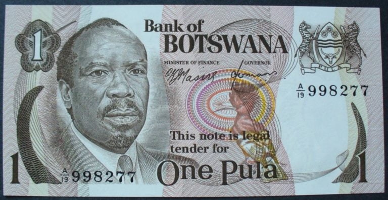 Botswana Pula 768x397 - See 2019 Top 10 Most Valuable Currencies In Africa