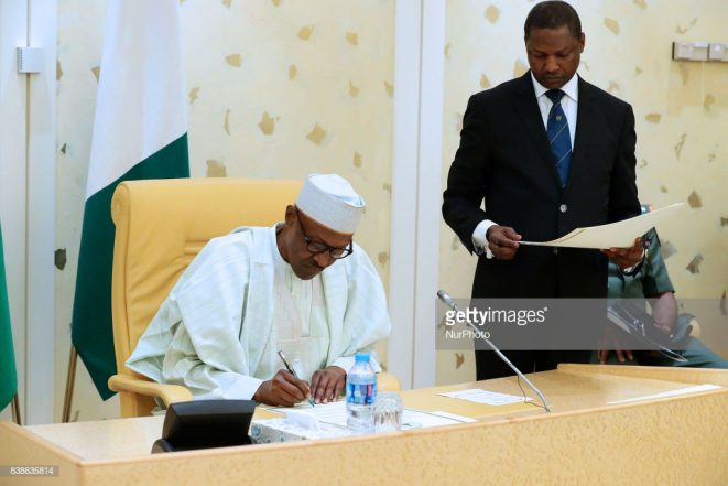 Bu Jubril 11 - What Is At Stake As Buhari Delays In Signing Audit Bill