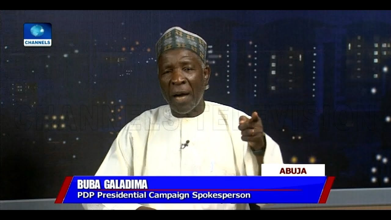 Video: FG Paid LGs N45m To 'Purchase' People For Buhari's Rallies - Buba Galadima
