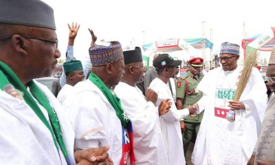 What Buhari Promised Nigerians At Rally In Abuja