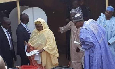 Buhari Spies Who His Wife, Aisha Voted For (Video)