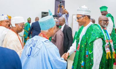 What Ekiti Obas Asked Buhari To Do For Ekiti, Nigeria