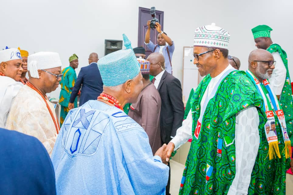 What Ekiti Obas Asked Buhari To Do For Ekiti, Nigeria