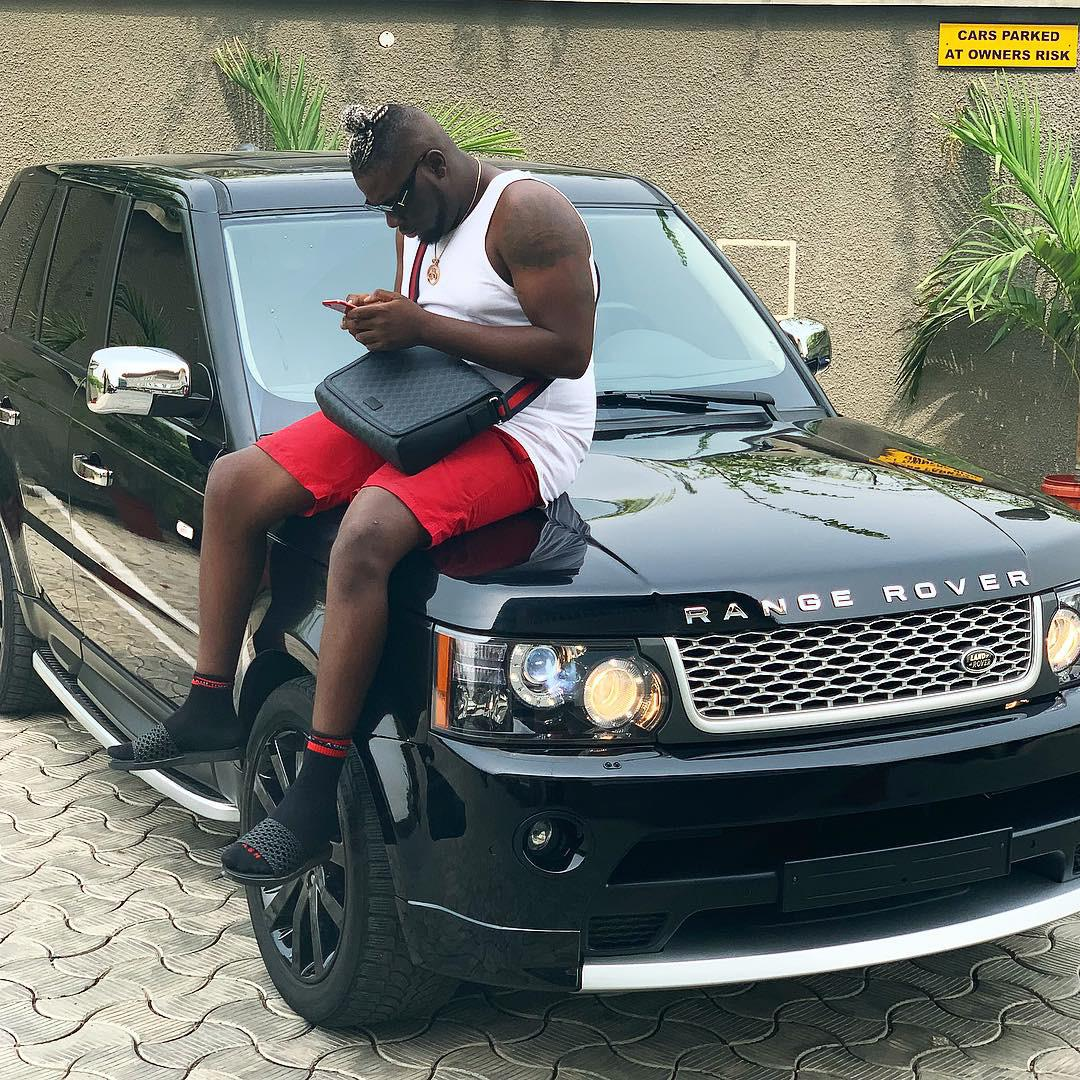 Dbanj Gifts Producer Brand New Range Rover SUV