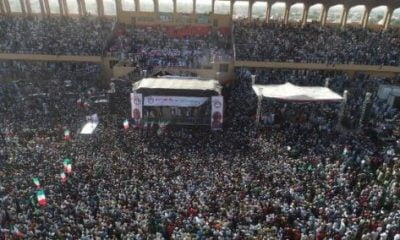 Crowd Buhari