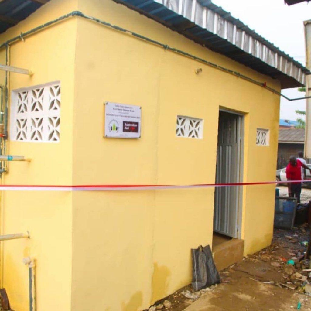 DE 2 1024x1024 - Desmond Elliott Commissions Public Toilet For His Constituency (Photos)