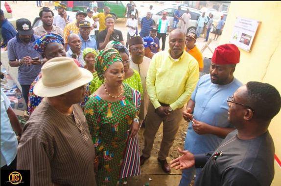 DE 3 - Desmond Elliott Commissions Public Toilet For His Constituency (Photos)
