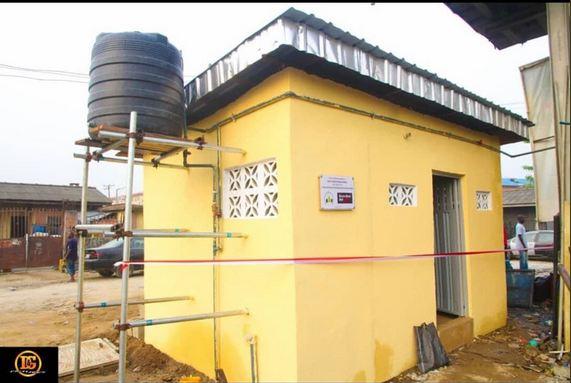 DE 4 - Desmond Elliott Commissions Public Toilet For His Constituency (Photos)