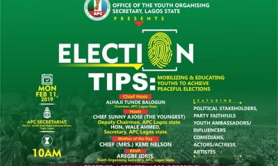 APC Youth To End Election Illiteracy By Giving Tips Feb 11