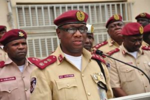 File photo of FRSC officials