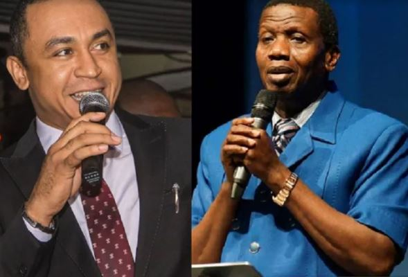 Graphic photos of Pastor Adeboye and Daddy Freeze