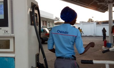 Oando Shuns IPMAN's Order, Sells Petrol At N145 Per Litre (Photos)