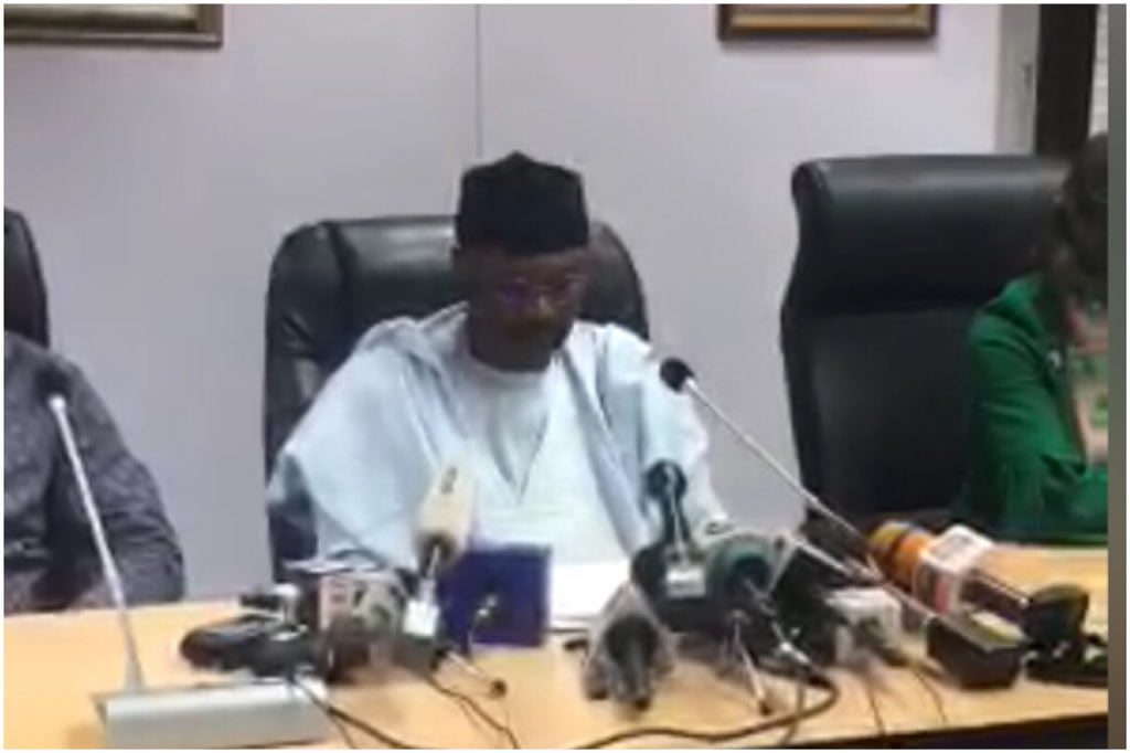 INEC gives update on 2019 elections