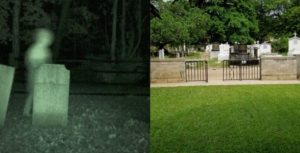 Ikoyi cementry1 300x153 - See Moment Ghost Walks Out Of Ikoyi Cemetery (Photo)