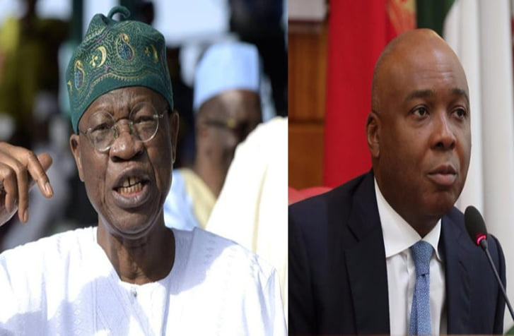 Lai Mohammed and Bukola Saraki - Kwara Governorship Election: Lai Mohammed Reveals What Will Happen To Saraki, PDP On Saturday