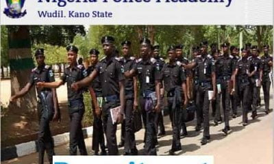 How To Apply For Nigeria Police Academy Recruitment 2019