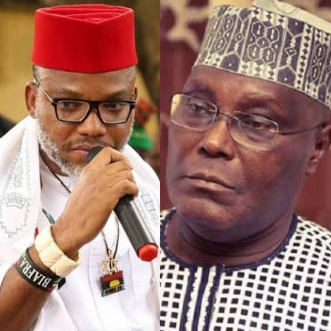Biafra: Why Atiku Should Not Contest 2019 Presidency - Nnamdi Kanu