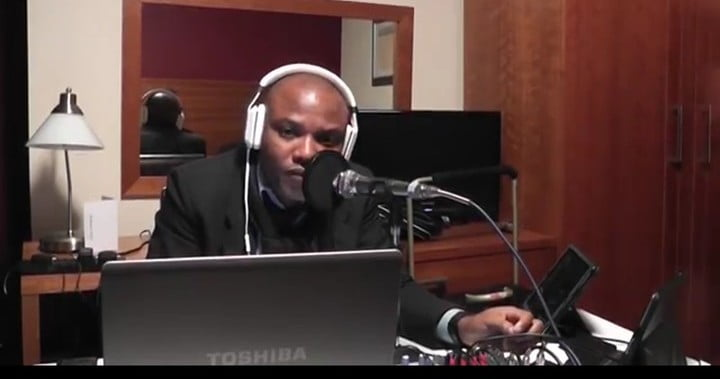 Biafra: Nnamdi Kanu Spits Fire In Latest Broadcast (Listen Here)