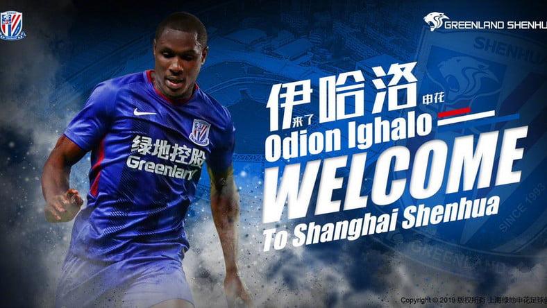 Odion - Odion Ighalo Leaves Chinese side, Changchun Yatai, See New Team