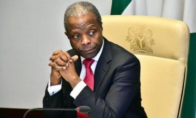 Breaking: VP Osinbajo's Chopper Crash Lands In Kogi