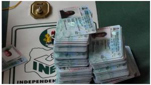 PVC 300x170 - Edo 2020: Voters Present PVC To Collect Ankara (Video)