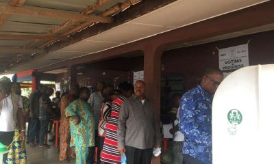 Just In: PDP's Peter Obi Casts His Vote (Video)