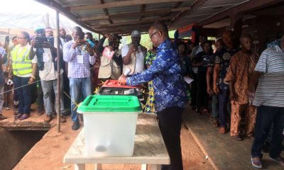 What Peter Obi Said After Casting His Vote