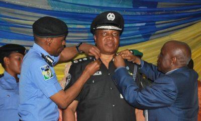 Police IG, Adamu Mohammed decorates DIG Ali
