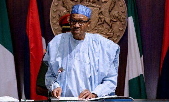 Buhari swears in RMAFC