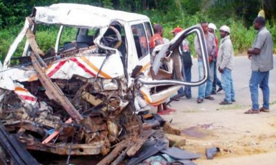 Ogun Auto Crash Leaves 3 Dead, 11 Injured